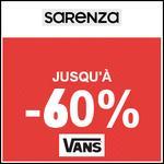Bon Plan Sarenza : Vente Privée Vans - Jusqu'à -60% - anti-crise.fr