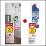 Bon Plan Cif + Domestos : 1 Nettoyant + 1 Gel WC à 0,21€ chez Hyper U - anti-crise.fr