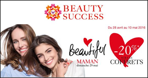 Bon Plan Beauty Success : -20% sur les Coffrets - anti-crise.fr