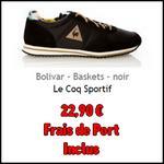 Bon Plan Le Coq Sportif : Basket Bolivar à 22,90€ sur BrandAlley - anti-crise.fr