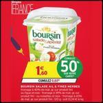 Bon Plan Boursin : 2 Boîtes Salade & Apéritif à 0,60€ chez Intermarché - anti-crise.fr