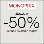Bon Plan Monoprix : Jusqu'à -50% sur la Mode - anti-crise.fr