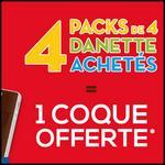 Bon Plan Danette : 4 Packs de 4 Danette Achetés = 1 Coque Offerte - anti-crise.fr