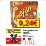 Bon Plan Candia : Pack de Gourdes Candy'up à 0,24€ chez Cora - anti-crise.fr