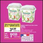 Bon Plan Boursin : 2 Boîtes Salade & Apéritif à 0,69€ chez Cora - anti-crise.fr