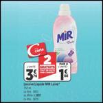 Bon Plan Mir : Lessive Liquide White ou Laine à 0,38€ chez Géant Casino - anti-crise.fr