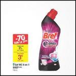 Bon Plan Bref 2 Gels WC 6en1 à 0,18€ chez Carrefour - anti-crise.fr