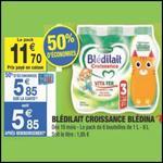 Bon Plan Blédina : Pack de Blédilait Croissance à 4,35€ chez Carrefour Market - anti-crise.fr