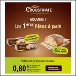Bon de Réduction Croustipâte : 0,80€ sur 1 Pâte à pain - anti-crise.fr