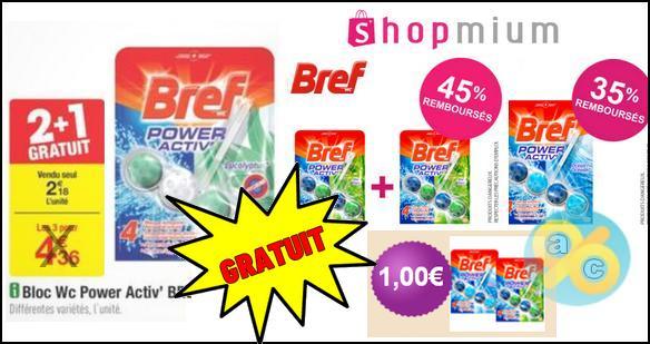 Bon Plan Bref : Bloc WC Power Activ' Gratuit chez Carrefour - anti-crise.fr