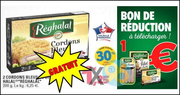 Bon Plan Réghalal : Cordons Bleus de Dinde Gratuits chez Leclerc - anti-crise.fr