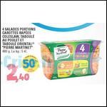 Bon Plan 4 Salades Portions Pierre Martinet chez Leclerc - anti-crise.fr