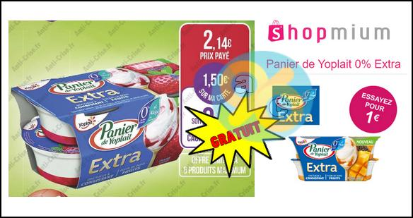 Bon Plan Yoplait : Panier Extra 0% Gratuit chez Match - anti-crise.fr