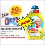 Bon Plan Mr Propre : Gel Liquide Gratuit chez Simply Market - anti-crise.fr