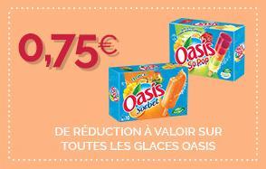 coupon de reduction oasis