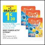 Bon Plan Bref : Bloc WC Power Activ' Gratuit chez Leader Price - anti-crise.fr