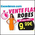 Bon Plan Excedence : Vente Flash : Toutes les Robes à 9,99€ - anti-crise.fr