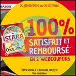 Offre de Remboursement Istara : Ossau-Iraty 100% remboursé en 2 Bons - anti-crise.fr