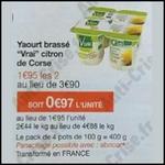 Bon Plan Vrai : 2 Packs Yaourts Brassés Gratuits chez Monoprix - anti-crise.fr