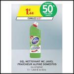 Bon Plan Domestos : Gel Nettoyant WC à 0,22€ chez Intermarché - anti-crise.fr