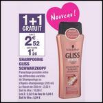 Bon Plan Schwarzkopf : 2 Shampooings Gliss à 0,92€ chez Carrefour Market - anti-crise.fr