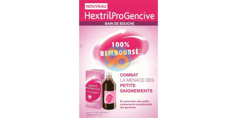 Offre de Remboursement Hextril : Bain de Bouche ProGencive 100% Remboursé - anti-crise.fr
