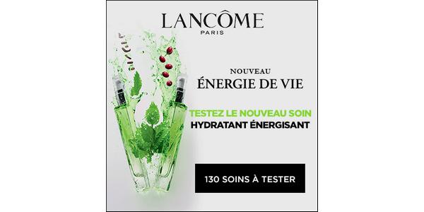 Test de Produit Beauté Test : Soin Liquide - Énergie de Vie de Lancôme - anti-crise.fr