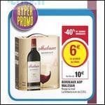 Bon Plan Malesan : Bordeaux Rouge à 1,33€ le Litre chez Magasins U - anti-crise.fr