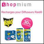 Offre de Remboursement Shopmium : Jusqu'à -30% sur les Recharges pour Diffuseurs Raid® - anti-crise.fr