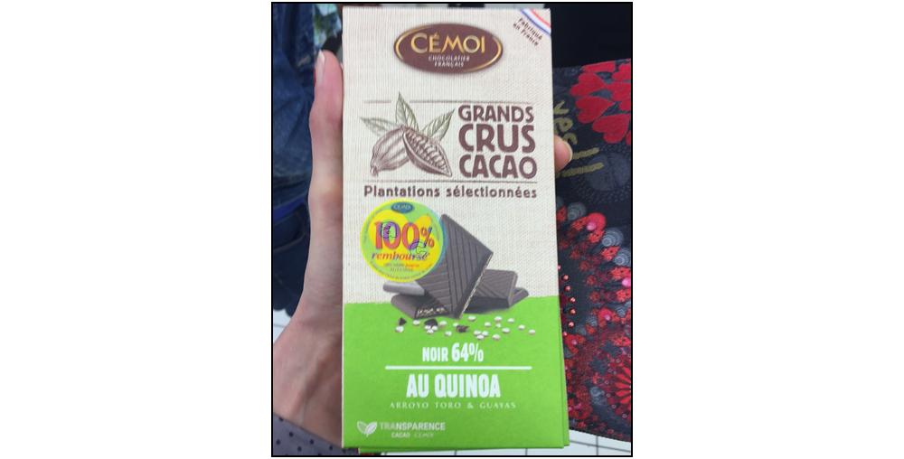 Offre de Remboursement Cémoi : Tablette de Chocolat Grands Crus Cacao 100% Remboursé - anti-crise.fr