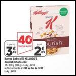 Bon Plan Kellogg's : Special K Nourish à 0,35€ chez Géant Casino - anti-crise.fr