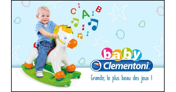 Test de Produit Conso Baby : Porteur électronique Cheval Clementoni - anti-crise.fr