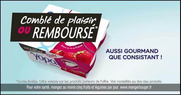 Offre de Remboursement Yoplait : Yopa Satisfait ou 100% Remboursé - anti-crise.fr