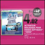 Bon Plan Tarax : Traitement pour Fosses Septiques à 0,67€ chez Leclerc Sud-Ouest - anti-crise.fr