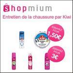 Offre de Remboursement Shopmium : 5 Offres sur L'Entretien de la chaussure par Kiwi - anti-crise.fr