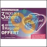 Bon Plan Taillefine : 3 Packs Achetés + 1€ = 1 Abonnement Magazine Offert - anti-crise.fr