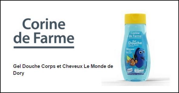 Test de Produit Beauté Addict : Gel Douche Corps & Cheveux Le Monde de Dory Corinne de Farme - anti-crise.fr