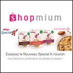 Offre de Remboursement Shopmium : 4 Offres Special K Nourish - anti-crise.fr