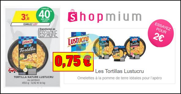 Bon Plan Lustucru : Tortilla à 0,75€ chez Intermarché - anti-crise.fr
