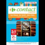Catalogue Carrefour Contact Marché du 5 au 17 juillet