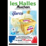 Catalogue Les Halles Auchan du 13 au 19 juillet