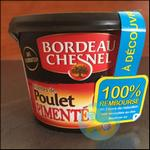 Offre de Remboursement Bordeau Chesnel : Rillettes de poulet pimenté 100% Remboursé en 2 Bons - anti-crise.fr