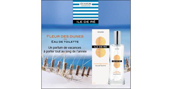 Test de Produit Beauté Test : Fleur des dunes ILE DE RÉ - anti-crise.fr