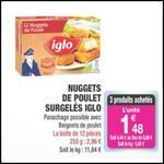 Bon Plan Nuggets de Poulet Iglo chez Carrefour Market - anti-crise.fr