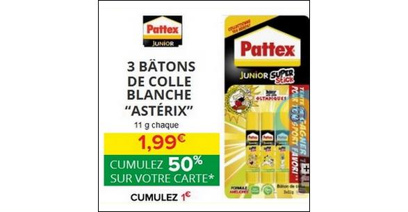 Bon Plan Bâtons de Colle Pattex chez Intermarché - anti-crise.fr