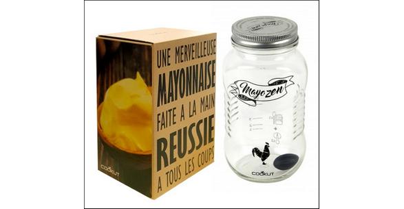 Test de Produit Conso Cuisine : Shaker à Mayonnaise Mayozen de Cookut - anti-crise.fr