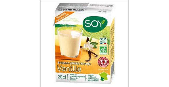 Tests de Produits : Boisson plaisir Soja & Vanille Soy - anti-crise.fr