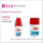 Offre de Remboursement Shopmium : Lotion ou Stick Autan® Family Care 100% Remboursé - anti-crise.fr