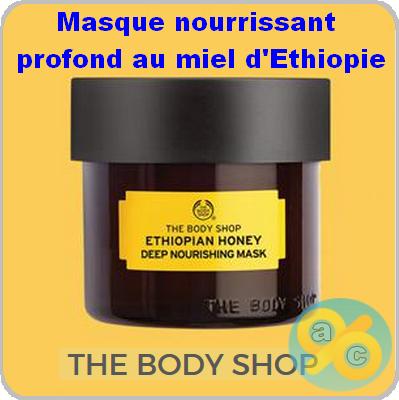 test Masque nourrissant profond au miel d'Ethiopie