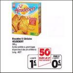 Bon Plan Heudebert : Paquet de Biscottes à 0,06€ chez Géant Casino - anti-crise.fr